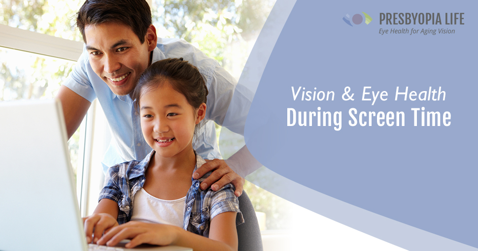 Vision tips during screen time remote learning